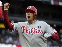 ThePhillies are 9-1, as of Monday, since acquiring Hunter Pence from the Astros.