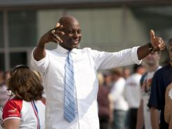 Jerry Rice, at the Indianapolis 500 in May,  be formally announced as a new ESPN NFL analyst Wednesday after stints on local TV in San Francisco, on the BBC's NFL coverage and on Sirius XM NFL Radio.