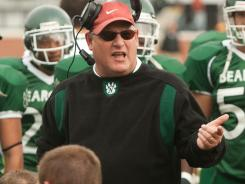 Scott Bostwick became coach of Northwest Missouri State this offseason before dying in June.