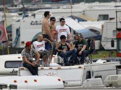 Fans take in Sunday's race at Pocono Raceway. The track will no longer feature 500-mile races.