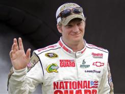 For now, NASCAR driver Dale Earnhardt Jr. isn't interested in getting hitched.