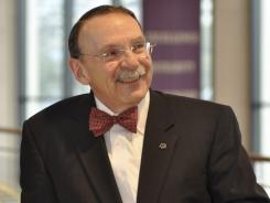 """""""What we do, if anything, will be in the best interest of Texas A&M and the state of Texas,"""" Dr. R. Bowen Loftin, president of Texas A&M university said about the possible move of conferences."""