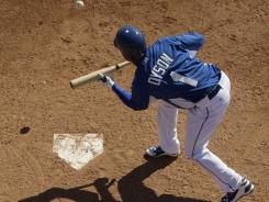 Kansas City Royals outfielder Jarrod Dyson could make a late-season impact in steals.
