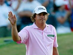 Jason Dufner is keeping his head up despite his playoff loss Sunday in the PGA Championship.