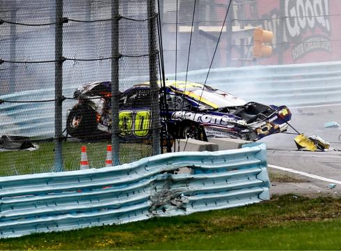 After wrecks NASCAR looks at Watkins Glen safety upgrades