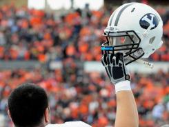 BYU starts its first football season as an independent with a new marketing slogan: 'Rise Up.'