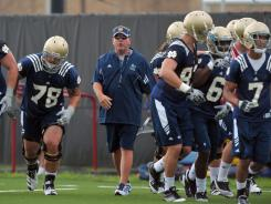 Notre Dame football coach Brian Kelly aims to make 2011 the year the Irish regain their glory.