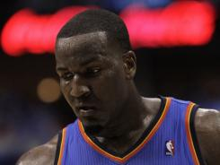 Thunder center Kendrick Perkins is scheduled to appear in court Sept. 30.