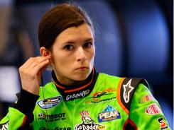 Danica Patrick gets ready for a Nationwide practice Friday in Montreal.