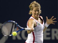 Belgium's Kim Clijsters played at the Rogers Cup in Toronto but she withdrew from her Aug. 9 match against Zheng Jie in the second set. She withdrew from the U.S. Open on Friday with a stomach injury.
