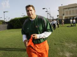 Miami head coach Al Golden has said his team is recovering from the shock of scandalous allegations hitting the program.