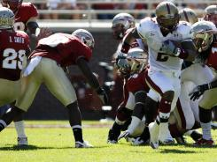 Boston College hopes Montel Harris, the ACC's leading returning rusher, is able to quickly return from arthroscopic knee surgery.