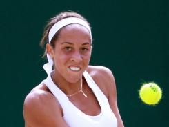 Madison Keys, 16, playing here in the girls event at Wimbledon, won the U.S. Open Wild Card Playoff on Sunday and gets a spot in the U.S. Open.