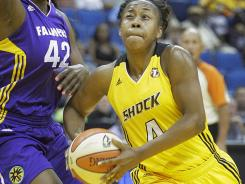 Amber Holt and the Tulsa Shock were unable to prevent dubious history being made in a 73-67 loss to the Los Angeles Sparks. The loss is the Shock's 18th consecutive.