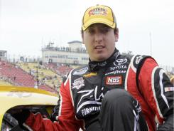 Kyle Busch apologized for speeding during his court apperance Tuesday, adding, &quot;It wasn't a toy, it's a high-performance vehicle. It should be driven with caution.&quot;