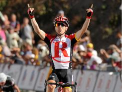 Levi Leipheimer won Stage 1 to open an 11-second overall lead in the USA Pro Cycling Challenge.