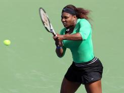 Serena Williams returns to the U.S.. Open, two years after her last match here, as a favorite again.