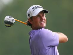 Webb Simpson, who earned his first win Sunday at the Wyndham Championship, is in the field this week for The Barclays.