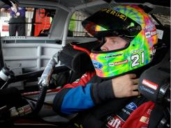"""Trevor Bayne settled for a 24th-place finish and a """"learning experience"""" at Michigan International Speedway."""