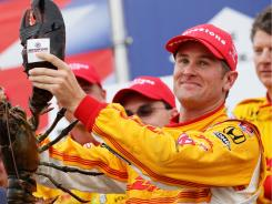 Ryan Hunter-Reay's win at New Hampshire Motor Speedway was confirmed by a three-member panel Wednesday.
