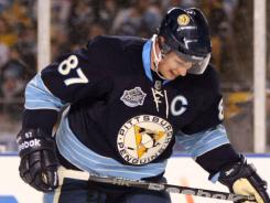 Sidney Crosby was originally hurt by a hit to the head in the Winter Classic.