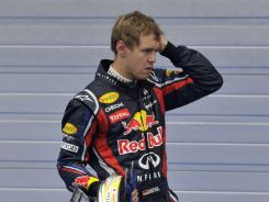 Sebastian Vettel has won six races this year and has an 85-point lead over second-place Mark Webber in the Formula One standings.