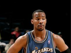 Javaris Crittenton. here in an April 2009 game with the Wizards, is not in custody and is wanted.