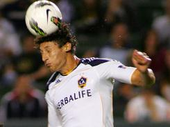 Omar Gonzalez gave the Galaxy the gamewinner on Thursday against Alajuelense.