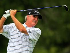 Russ Cochran leads the Champions Tour's Boeing Classic by a stroke after the first round on Friday.