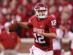 Landry Jones has a chance to follow Jason White (2003) and Sam Bradford (2008) as Heisman-winning passers at Oklahoma.