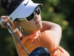 Michelle Wie shot a 4-under 68 on Saturday in the Canadian Women's Open for a share of the third-round lead.
