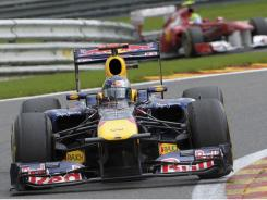 Sunday's victory helped Red Bull driver Sebastian Vettel extend his lead in the Formula One standings.