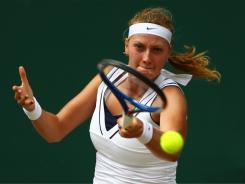 Petra Kvitova of the Czech Republic, the Wimbledon champ, packs plenty of firepower in her big game.
