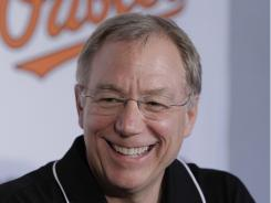 Andy MacPhail was named as the Orioles general manager in 2007.