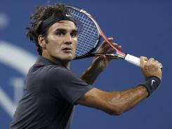 Roger Federer of Switzerland suggested Monday night after his win against Santiago Giraldo of Colombia that the courts were slower than usual.