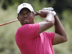 Tiger Woods currently is 38th in the world golf rankings.
