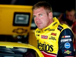 Clint Bowyer is ranked 12th in the Sprint Cup standings and is 22 points behind 10th-ranked Tony Stewart, the defending champion at Atlanta.