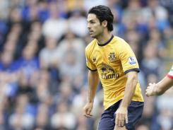Mikel Arteta is taking his services to Arsenal after being a centerpiece at Everton for the past six years.