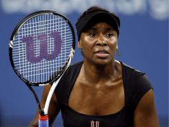 Venus Williams of the USA withdrew Wednesday from the U.S. Open because of a recently diagnosed illness.