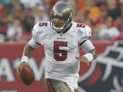 The Bucs are looking to quarterback Josh Freeman to take the team&#xA;to the next level. Last season, he threw for 3,451 yards and 25 touchdowns.