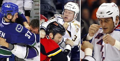 NHL tough guys Rick Rypien and Wade Belak were found dead in August and Derek Boogaard died in May.