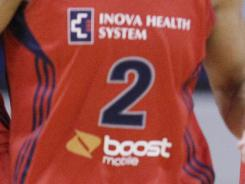 Inova Health Systems made the Washington Mystics the fifth WNBA team to add a sponsor to the front of its jerseys.