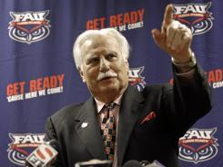 When tests determined Howard Schnellenberger was fine, he was released by the hospital. He's expected to be on the sideline for the Owls' opener Saturday against the 22nd-ranked Gators.