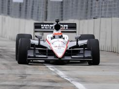 Will Power captured his 23rd career IndyCar pole Saturday in Baltimore.