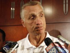 Philadelphia Flyers general manager Paul Holmgren was taken to a Camden hospital after a bike crash.
