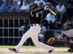 Chicago White Sox center fielder Alex Rios has seen his production plummet this season after a strong 2010.