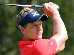 Luke Donald of England remains No. 1 in the PGA Tour rankings.