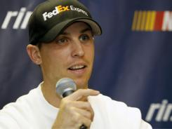 Denny Hamlin, 12th in points, speaks Thursday night in Richmond, where he is historically terrific on the racetrack.