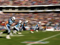 In 2008, the Titans kicked off to the Steelers from the 30-yard line. This season, teams will kick off from the 35 in a safety-driven change.
