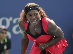Serena Williams moves through to the semifinals with a 7-5, 6-1 victory against  Anastasia Pavlyuchenkova of Russia.